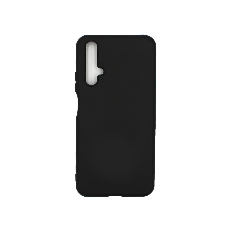 Θήκη Honor 20 / Huawei Nova 5T Σιλικόνη μαύρο