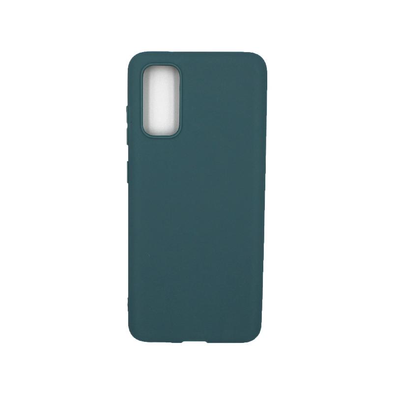 Θήκη Samsung Galaxy S20 Σιλικόνη πετρόλ