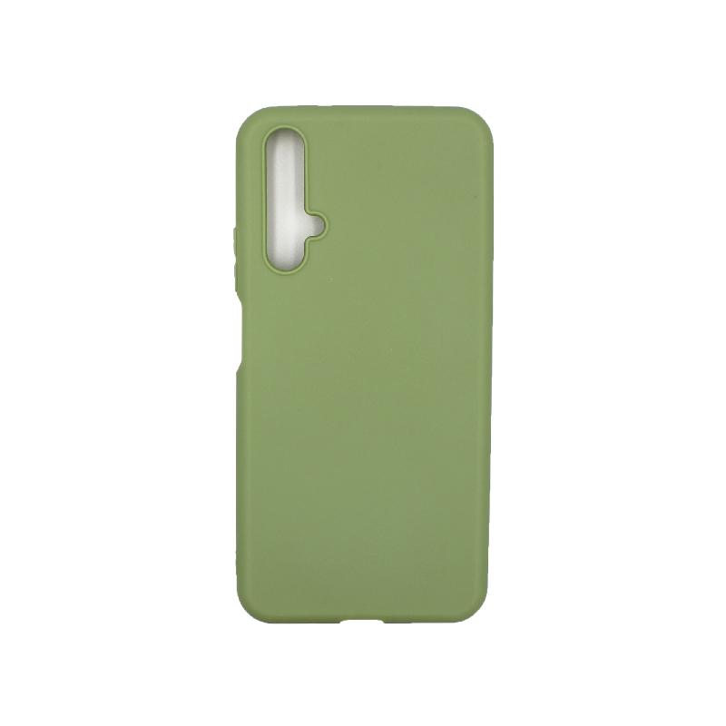 Θήκη Honor 20 / Huawei Nova 5T Σιλικόνη πράσινο