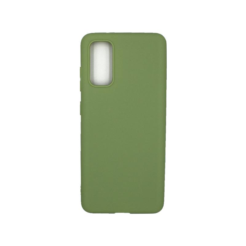 Θήκη Samsung Galaxy S20 Σιλικόνη πράσινο