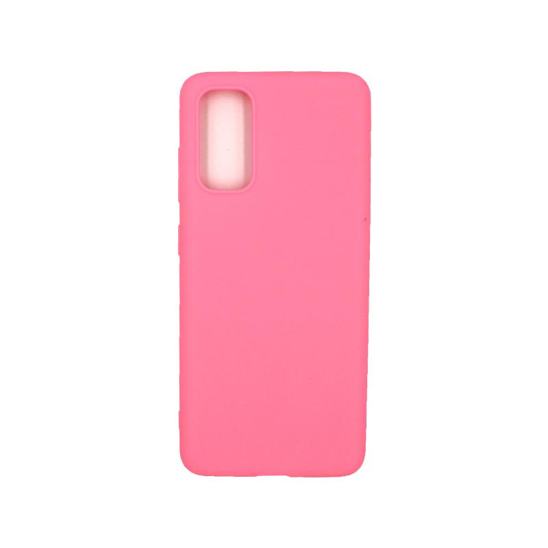 Θήκη Samsung Galaxy S20 Σιλικόνη ροζ