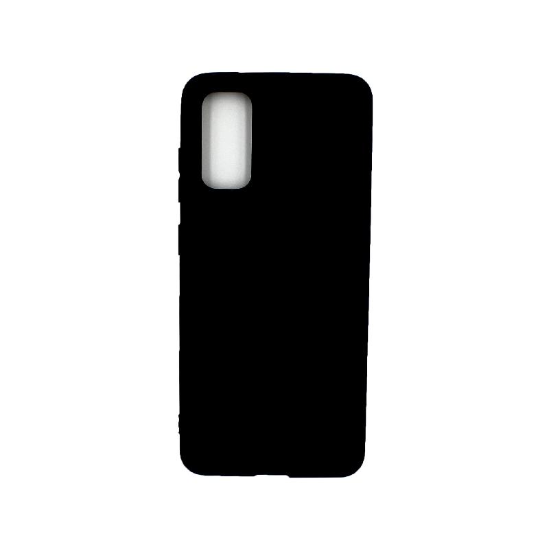 Θήκη Samsung Galaxy S20 Σιλικόνη μαύρο