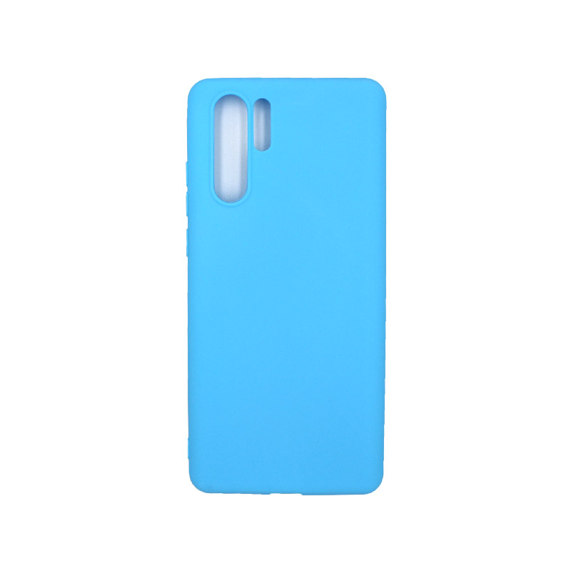 Θήκη Huawei P30 Σιλικόνη γαλάζιο