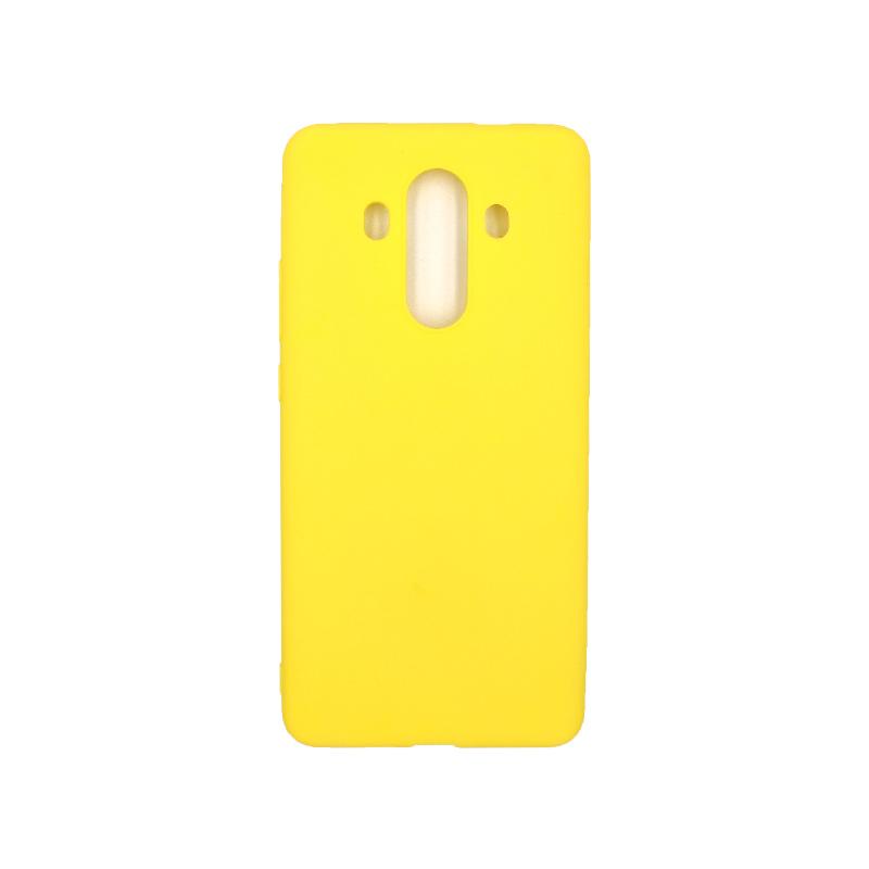 Θήκη Huawei Mate 10 Pro Σιλικόνη κίτρινο