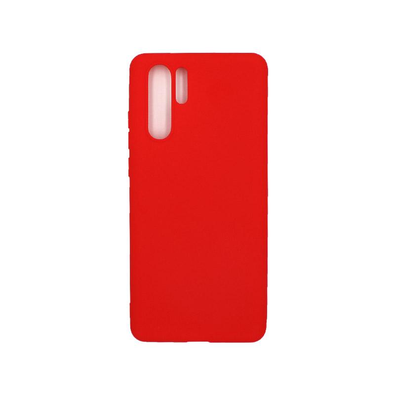 Θήκη Huawei P30 Σιλικόνη κόκκινο