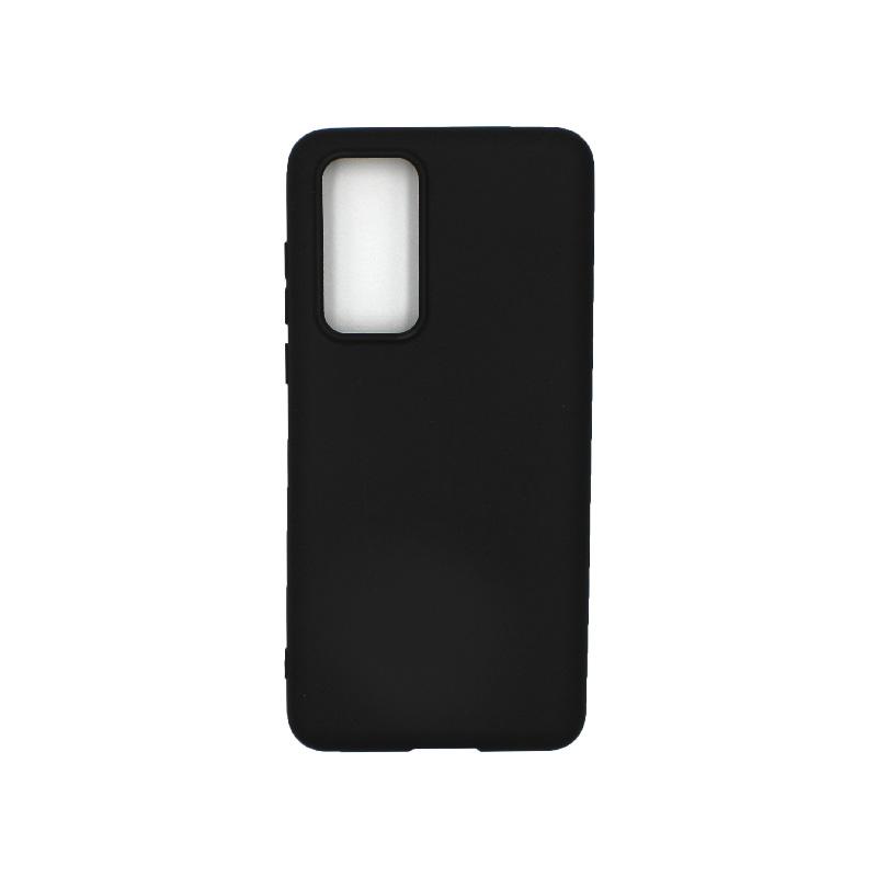 Θήκη Huawei P40 Σιλικόνη μαύρο