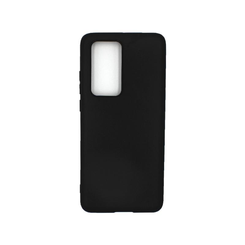 Θήκη Huawei P40 Pro Σιλικόνη μαύρο