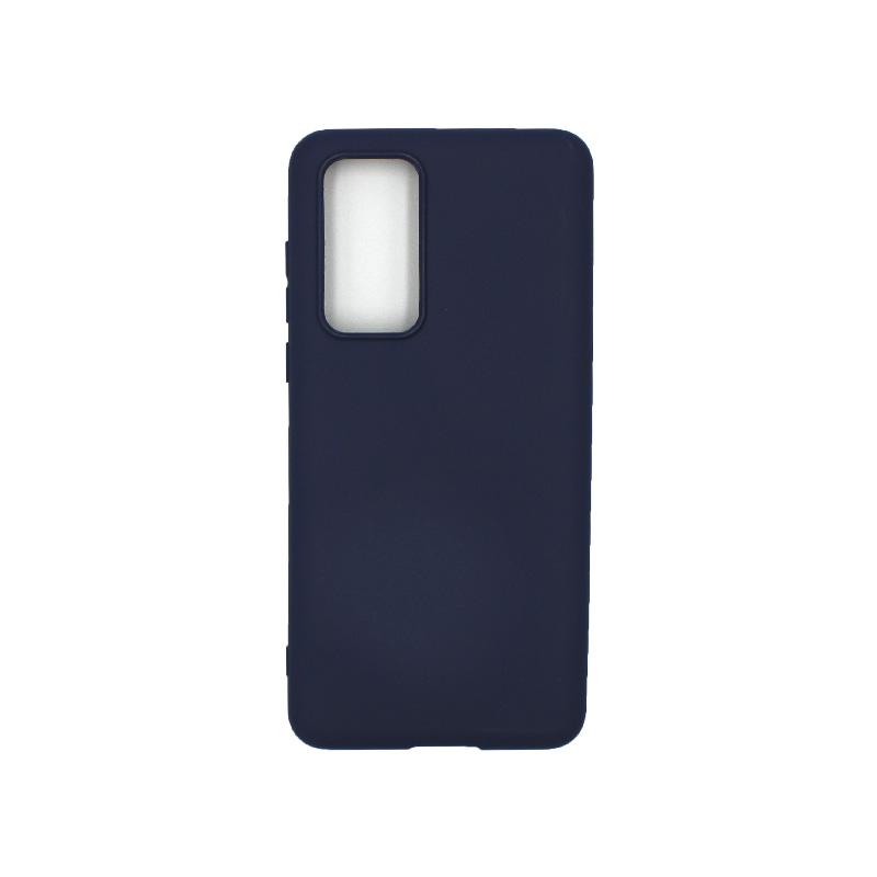 Θήκη Huawei P40 Σιλικόνη μπλε