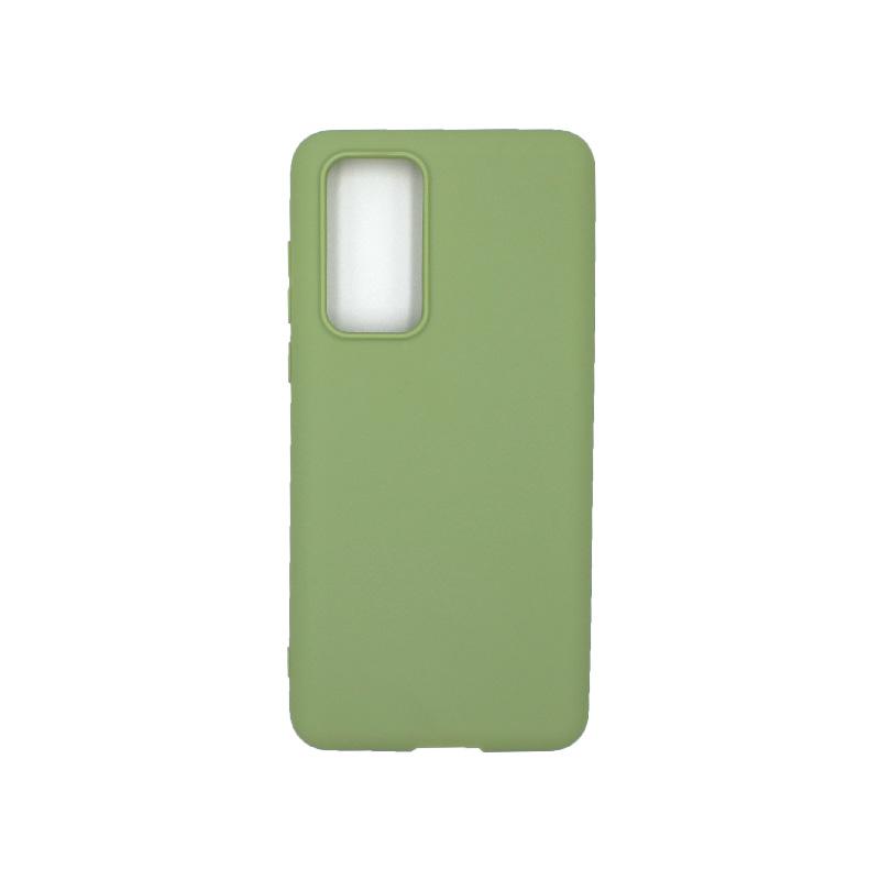 Θήκη Huawei P40 Σιλικόνη πράσινο