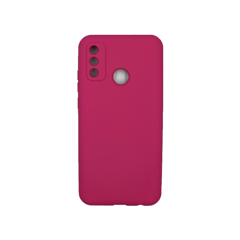 Θήκη Huawei P Smart 2020 Silky and Soft Touch Silicone φουξ 1