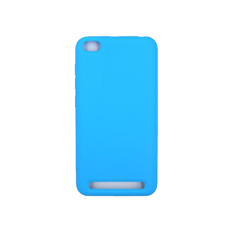 Θήκη Xiaomi Redmi 5A Silky and Soft Touch Silicone γαλάζιο 1