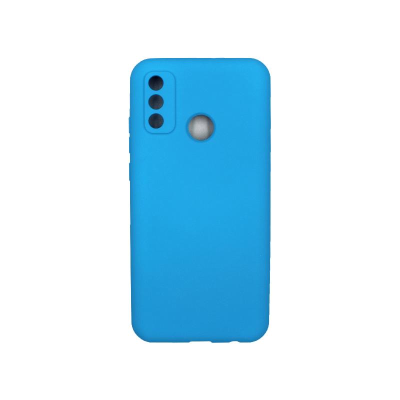 Θήκη Huawei P Smart 2020 Silky and Soft Touch Silicone γαλάζιο 1