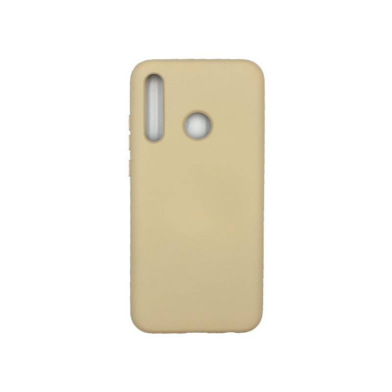 Θήκη Honor 20 Lite Silky and Soft Touch Silicone γκρι 1