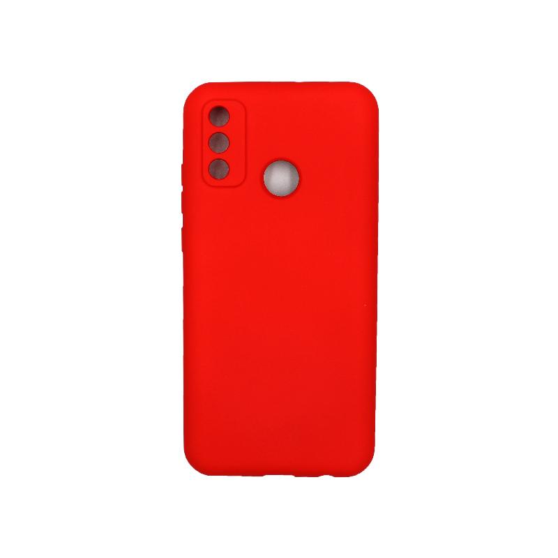 Θήκη Huawei P Smart 2020 Silky and Soft Touch Silicone κόκκινο 1