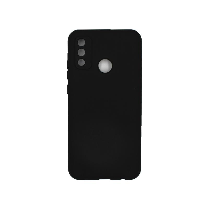 Θήκη Huawei P Smart 2020 Silky and Soft Touch Silicone μαύρο 1
