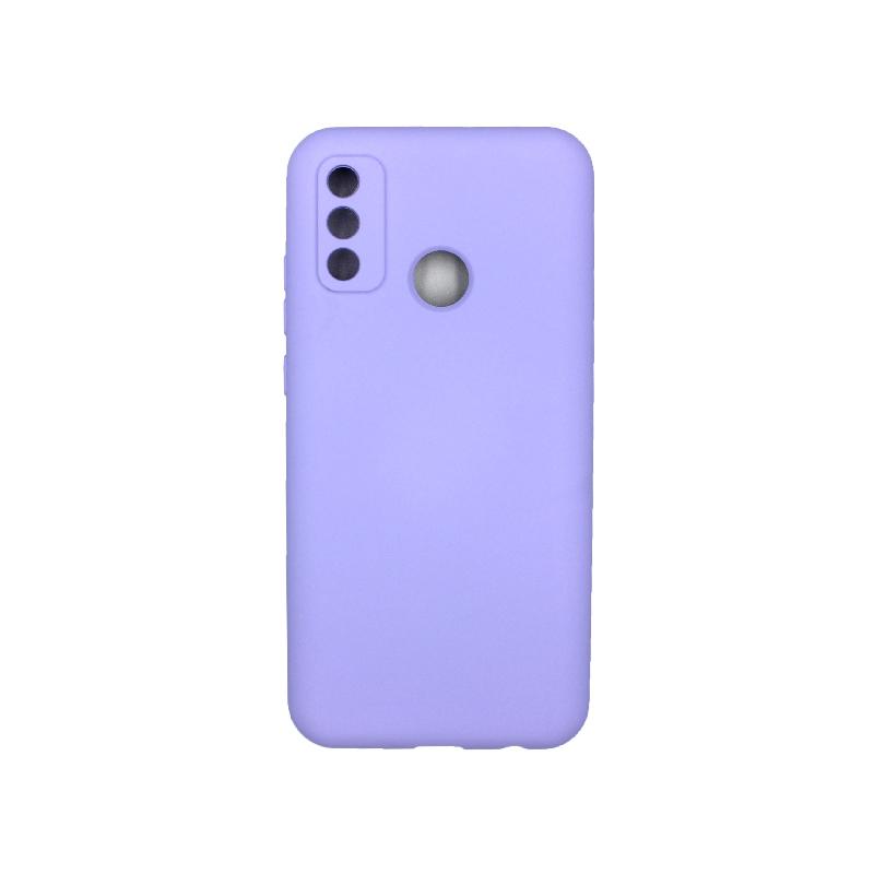 Θήκη Huawei P Smart 2020 Silky and Soft Touch Silicone μωβ 1
