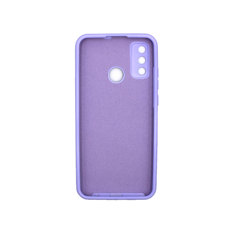 Θήκη Huawei P Smart 2020 Silky and Soft Touch Silicone μωβ 2