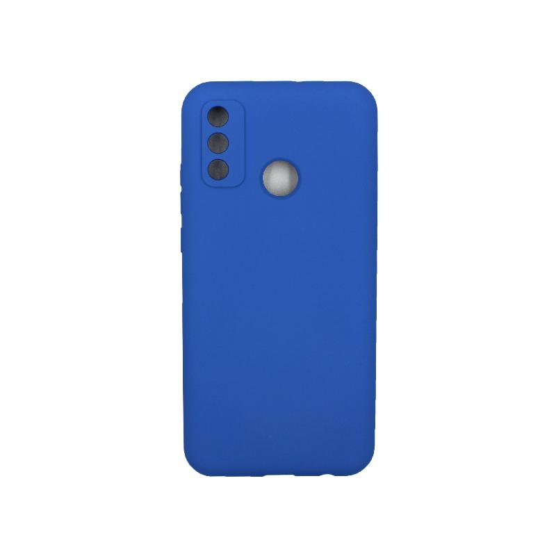 Θήκη Huawei P Smart 2020 Silky and Soft Touch Silicone μπλε 1