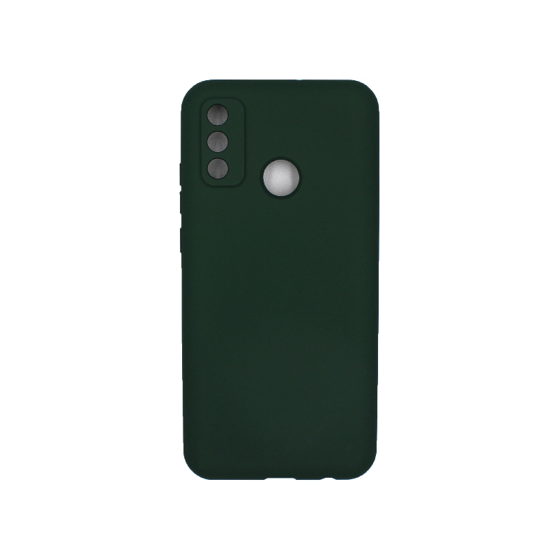 Θήκη Huawei P Smart 2020 Silky and Soft Touch Silicone πράσινο 1