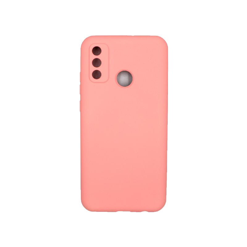 Θήκη Huawei P Smart 2020 Silky and Soft Touch Silicone ροζ 1
