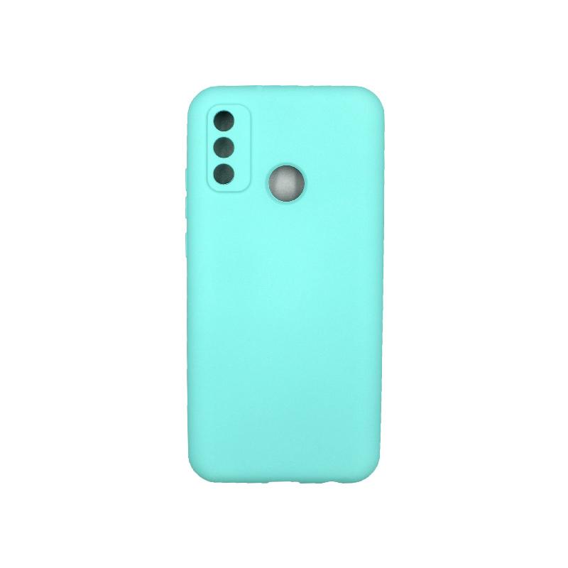Θήκη Huawei P Smart 2020 Silky and Soft Touch Silicone τιρκουάζ 1