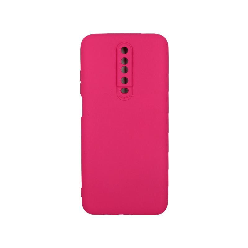 Θήκη Xiaomi Redmi K30 / K30 5G silky and soft touch σιλικόνη φούξια 1