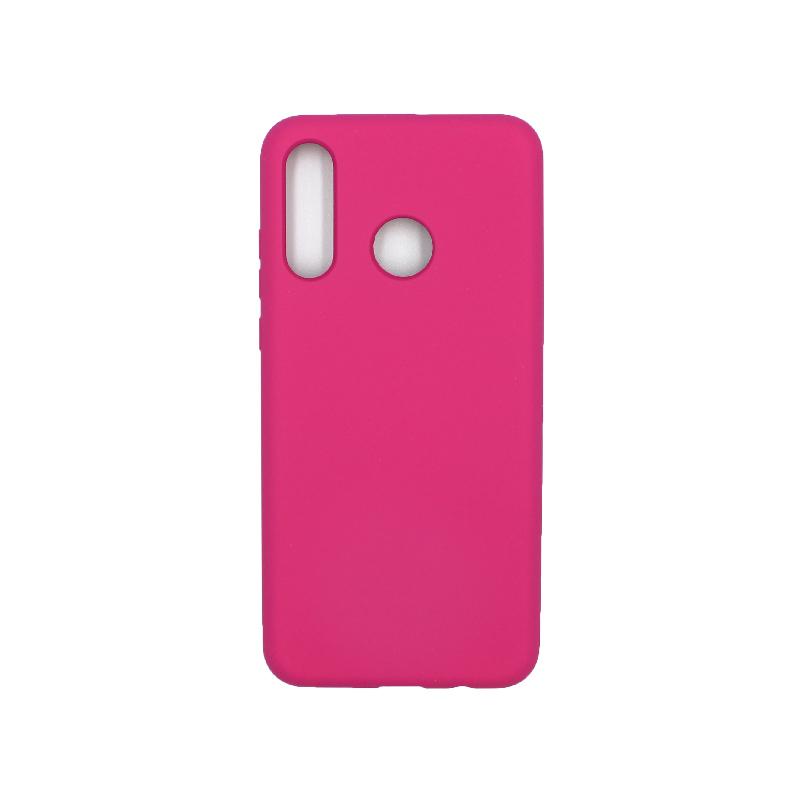 Θήκη Huawei P30 Lite Silky and Soft Touch Silicone φουξ 1