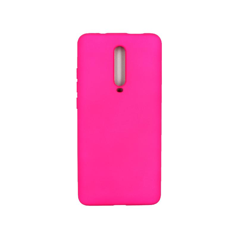 Θήκη Xiaomi Mi 9T / K20 / K20 Pro 9 Silky and Soft Touch Silicone φουξ 1