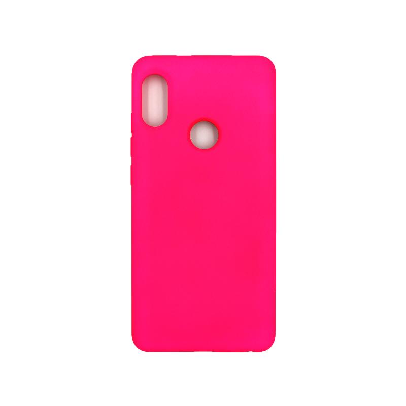 Θήκη Xiaomi Redmi Note 5 / 5 Pro Silky and Soft Touch Silicone φουξ 1