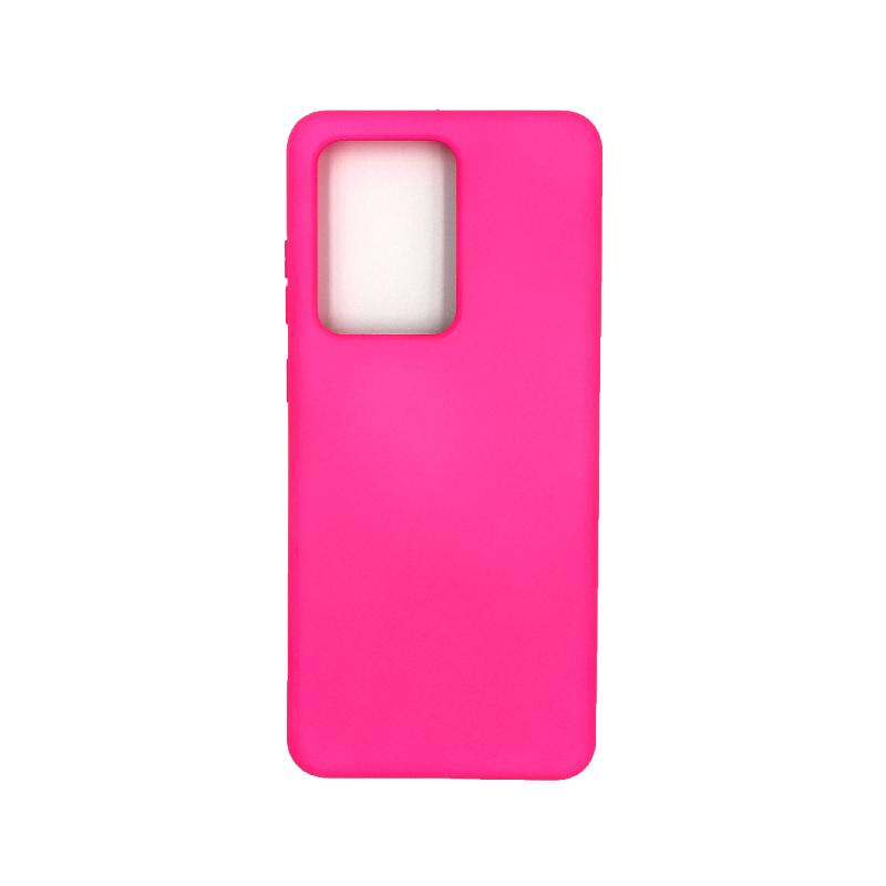 Θήκη Samsung Galaxy S20 Ultra Silky and Soft Touch Silicone φουξ 1