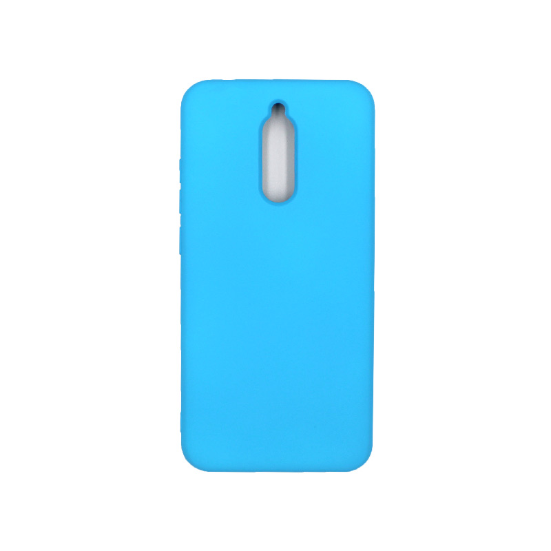 Θήκη Xiaomi Redmi 8 Silky and Soft Touch Silicone γαλάζιο 1