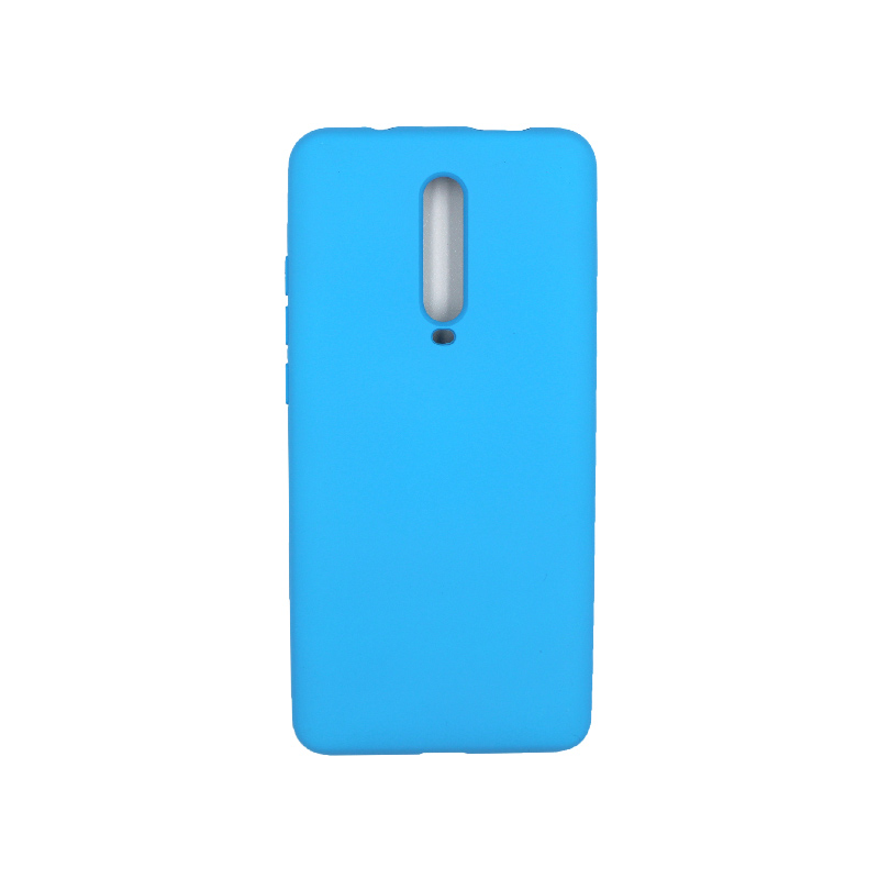 Θήκη Xiaomi Mi 9T / K20 / K20 Pro 9 Silky and Soft Touch Silicone γαλάζιο 1