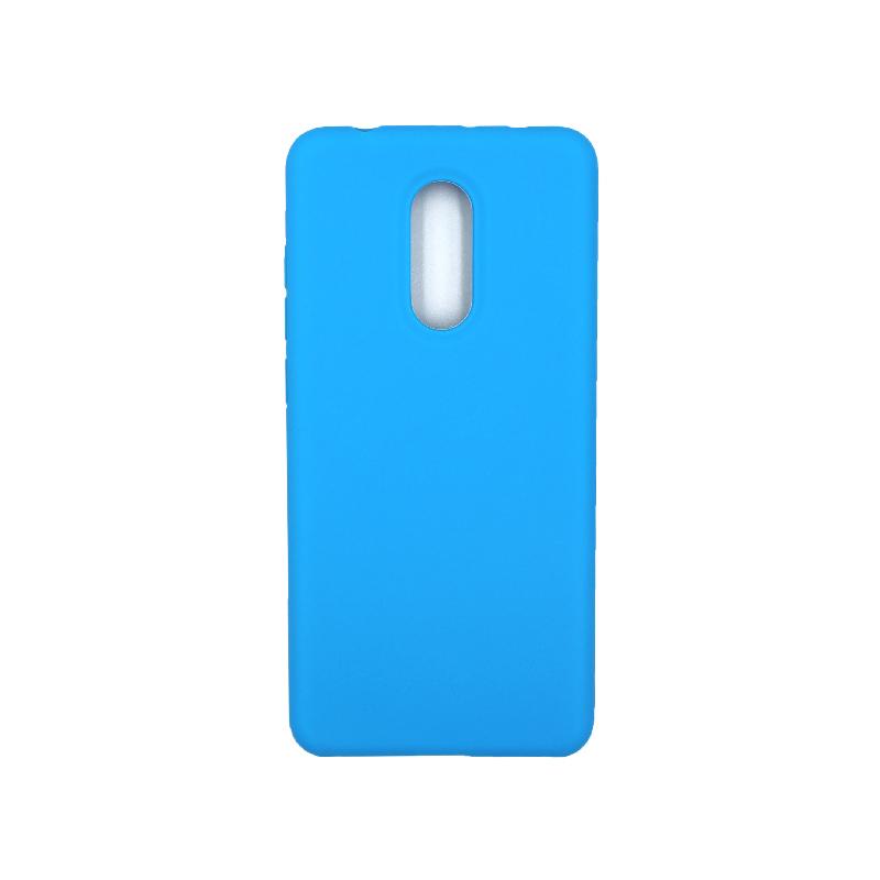 Θήκη Xiaomi Redmi 5 Silky and Soft Touch Silicone γαλάζιο 1
