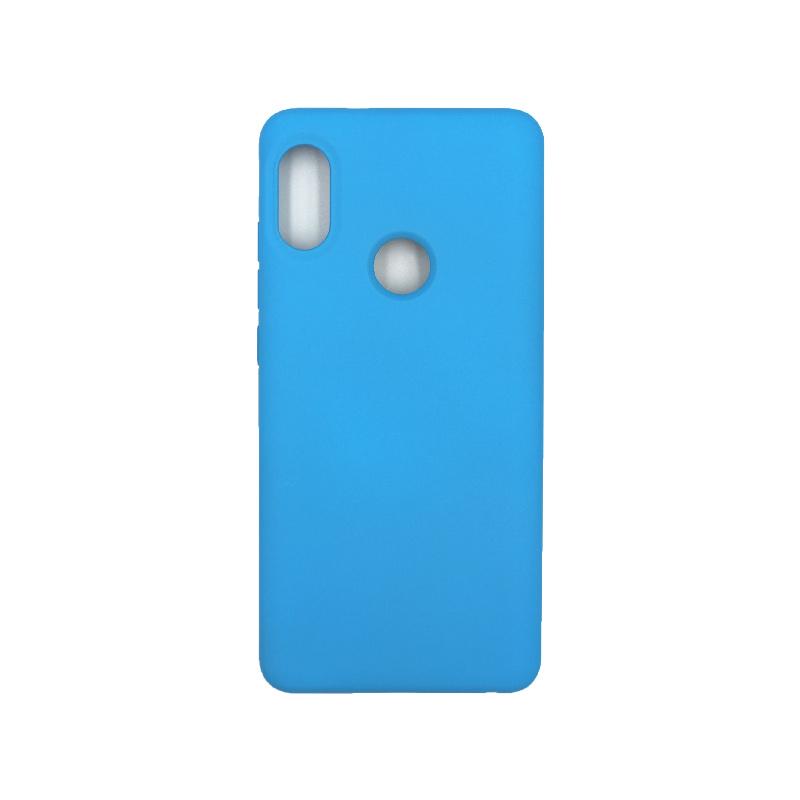 Θήκη Xiaomi Redmi Note 5 / 5 Pro Silky and Soft Touch Silicone γαλάζιο 1