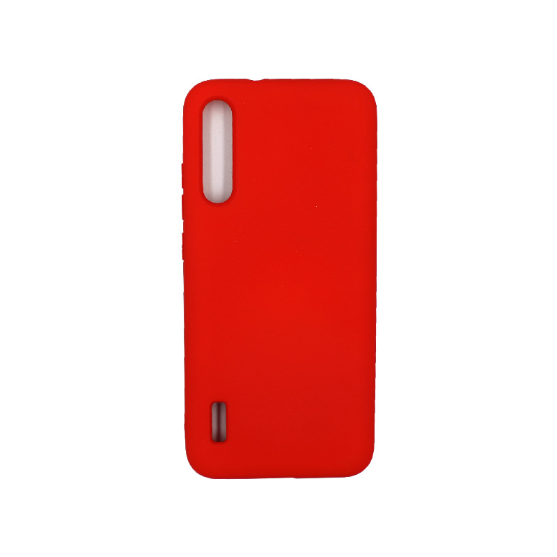 Θήκη Xiaomi Redmi A3 / CC9E Silky and Soft Touch Silicone κόκκινο 1