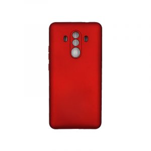 Θήκη Huawei Mate 10 Pro Silky and Soft Touch Silicone κόκκινο 1