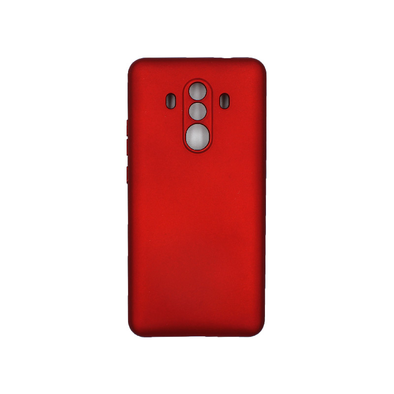 Θήκη Huawei Mate 10 Pro Silky and Soft Touch Silicone κόκκινο 1