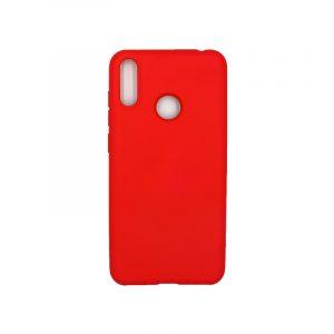 Θήκη Huawei Y7 2019 Silky and Soft Touch Silicone κόκκινο 1