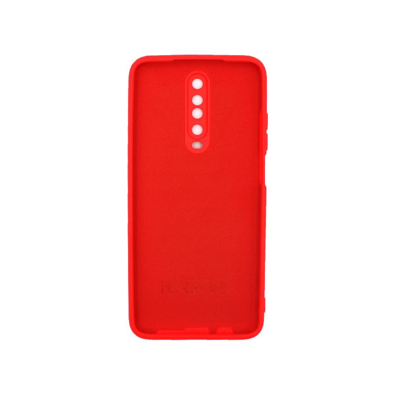 Θήκη Xiaomi Redmi K30 / K30 5G silky and soft touch σιλικόνη κόκκινο 2