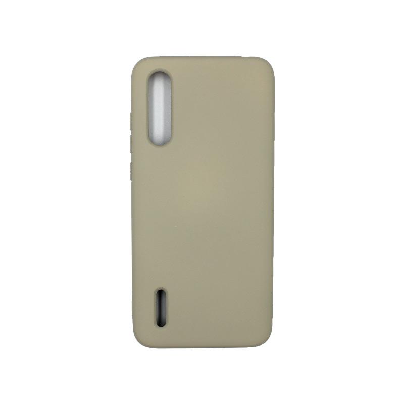 Θήκη Xiaomi Mi 9 Lite / CC9 / A3 Lite Silky and Soft Touch Silicone λαδί 1