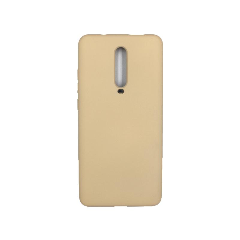 Θήκη Xiaomi Mi 9T / K20 / K20 Pro 9 Silky and Soft Touch Silicone λαδί 1