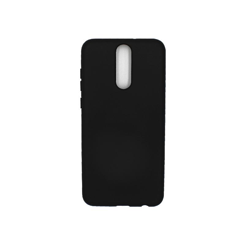 Θήκη Huawei Mate 10 Lite Silky and Soft Touch Silicone μαύρο 1