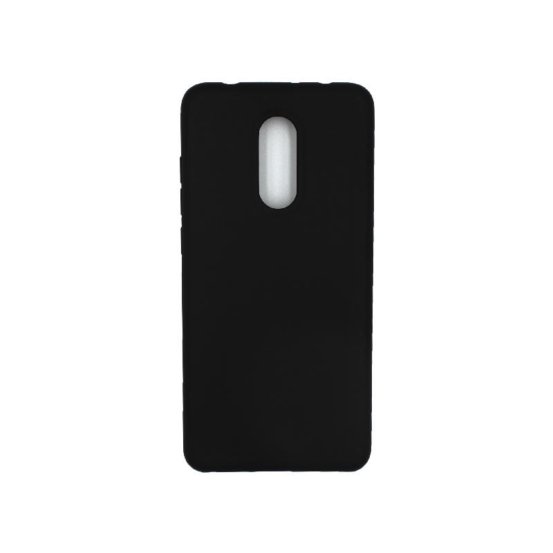 Θήκη Xiaomi Redmi 5 Silky and Soft Touch Silicone μαύρο 1