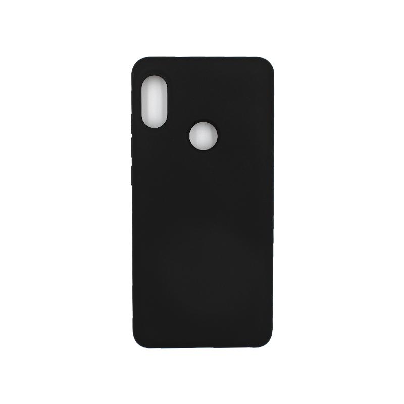 Θήκη Xiaomi Redmi Note 5 / 5 Pro Silky and Soft Touch Silicone μαύρο 1