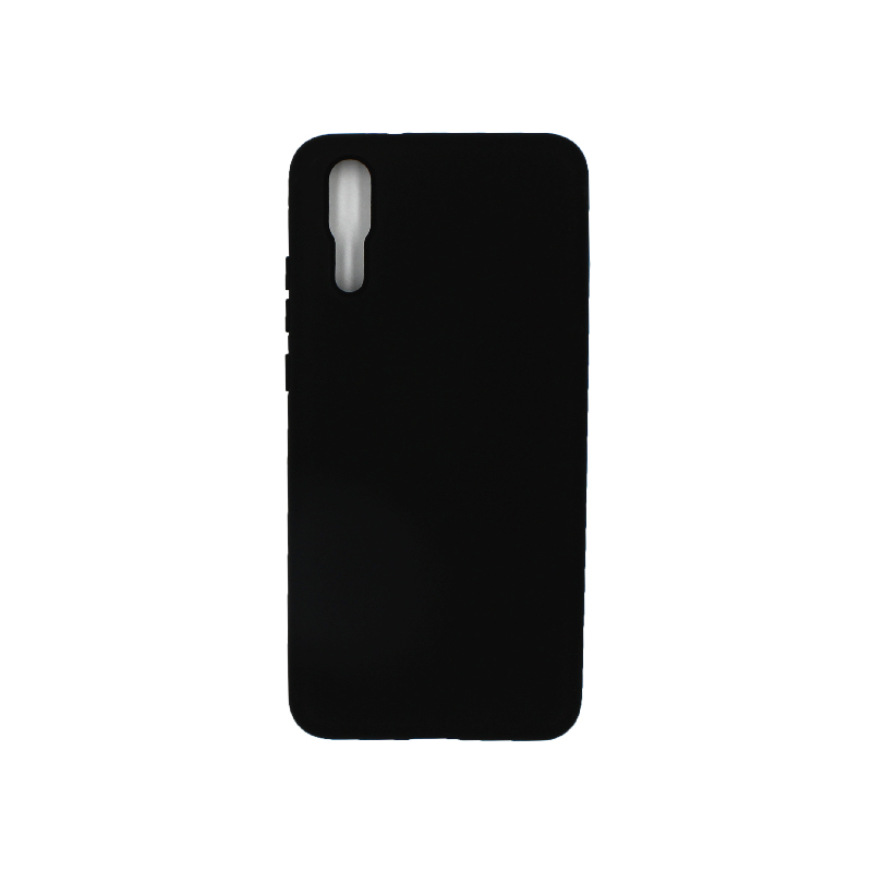 Θήκη Huawei P20 Silky and Soft Touch Silicone μαύρο 1