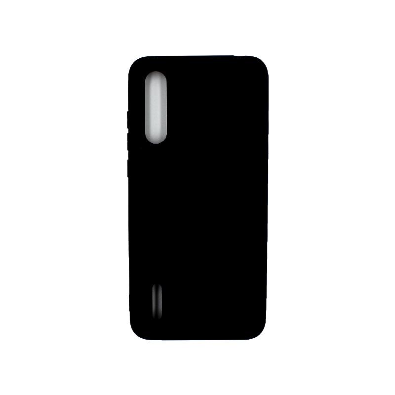 Θήκη Xiaomi Mi 9 Lite / CC9 / A3 Lite Silky and Soft Touch Silicone μαύρο 1