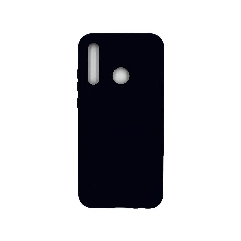 Θήκη P Smart Plus 2019 Silky and Soft Touch Silicone μαύρο 1