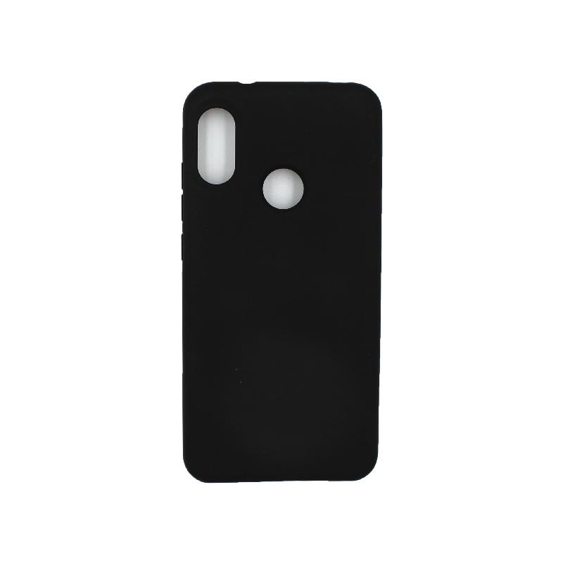 Θήκη Xiaomi Redmi Note 6 Pro Silky and Soft Touch Silicone μαύρο 1