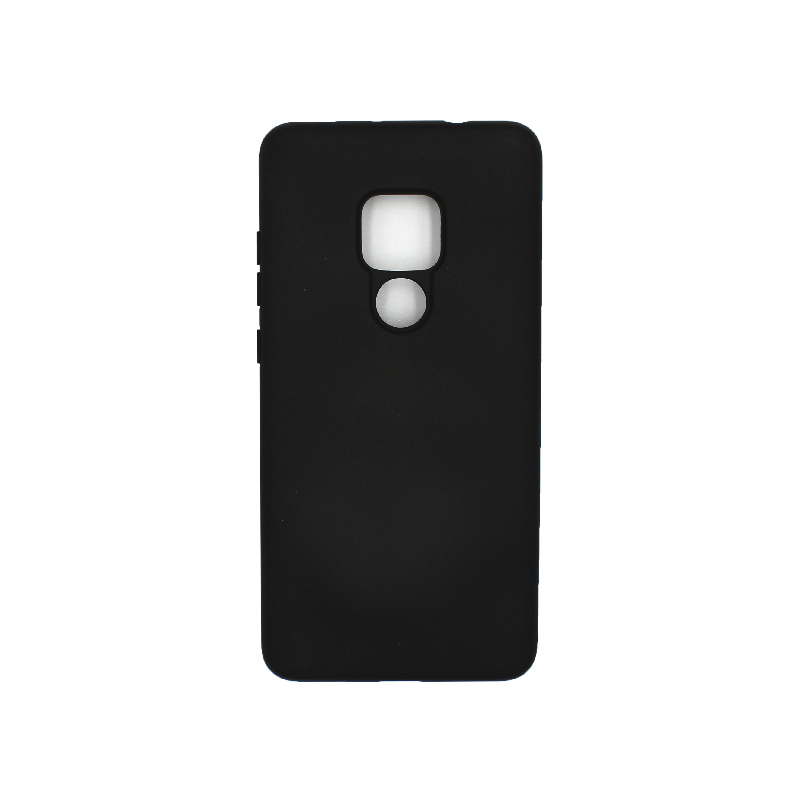 Θήκη Huawei Mate 20 Silky and Soft Touch Silicone μαύρο 1