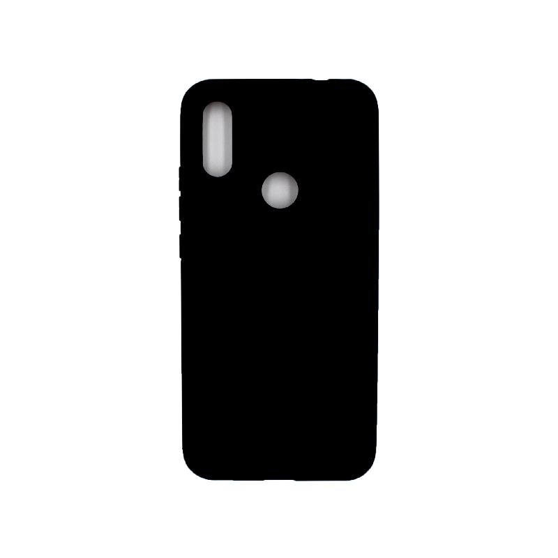 Θήκη Xiaomi Redmi 7 Pro Silky and Soft Touch Silicone μαύρο 1
